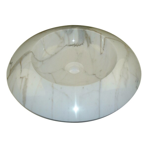Italian Calacatta Gold Marble Sink