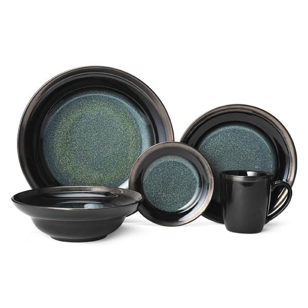 Mikasa Jade Stoneware Dinnerware Set (20 Pieces)