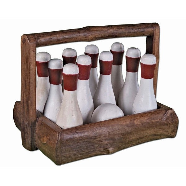 Great Gatsby Bowling Set with Basket