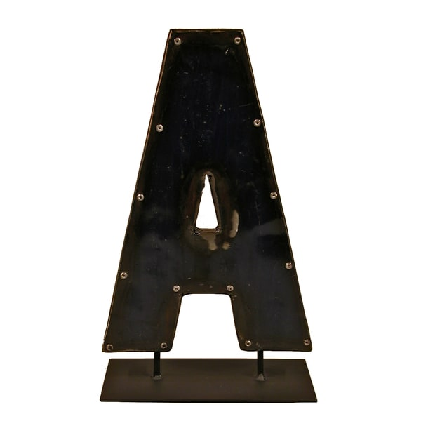 Barrel Letters on a stand  A 21332698