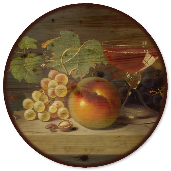 WGI Gallery 'Fruit & Cocktail' Wood Lazy Susan 21333135