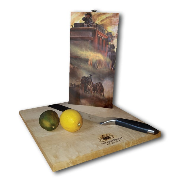 WGI Gallery 'Stage Fright' Wood Cutting Board