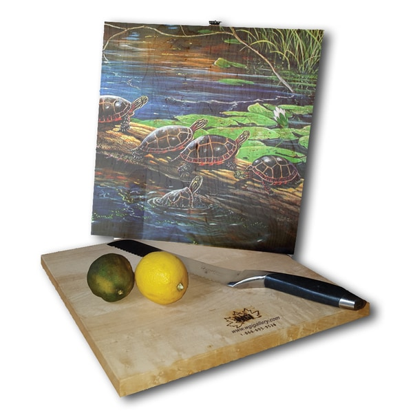 WGI Gallery 'Standing Room Only' Wood Cutting Board