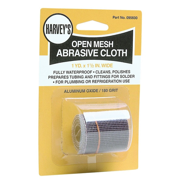 WM Harvey 095600 Open Mesh Abrasive Sandcloth