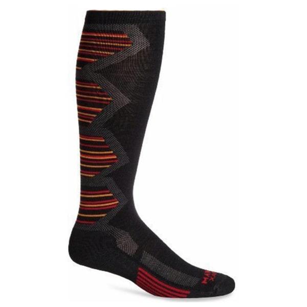 Wigwam Unisex Snow Powder Pro Black Nylon/Wool/Dri-release/Spandex Medium Socks