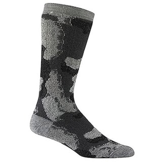 Wigwam Unisex Made In USA Charcoal Merino Wool Medium Camo Socks