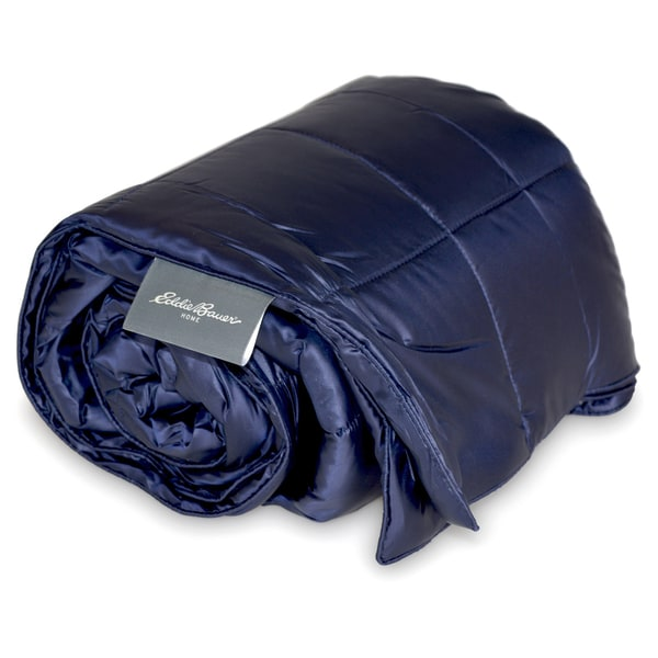 Eddie Bauer 700 Fill Power Down Performance Lightweight Packable Throw