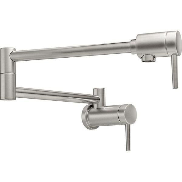 Delta Contemporary Wall Mounted Potfiller in Stainless