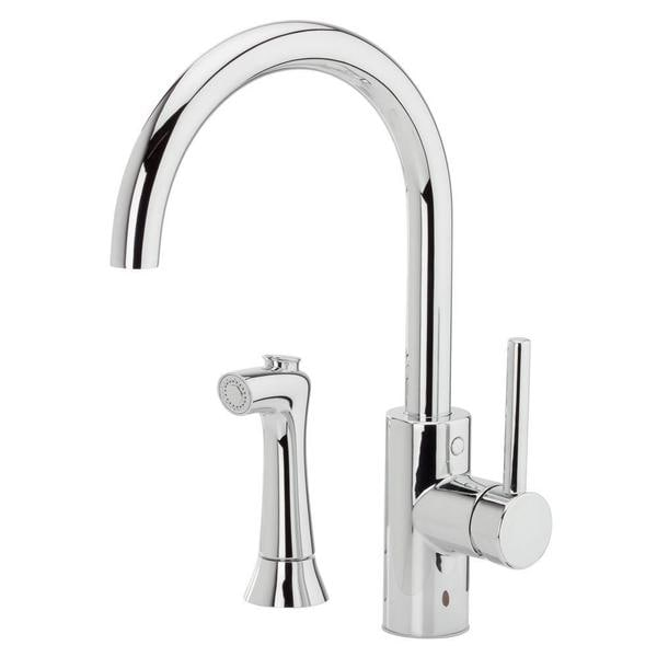Pfister Solo Single-Handle Side Sprayer Kitchen Faucet in Polished Chrome