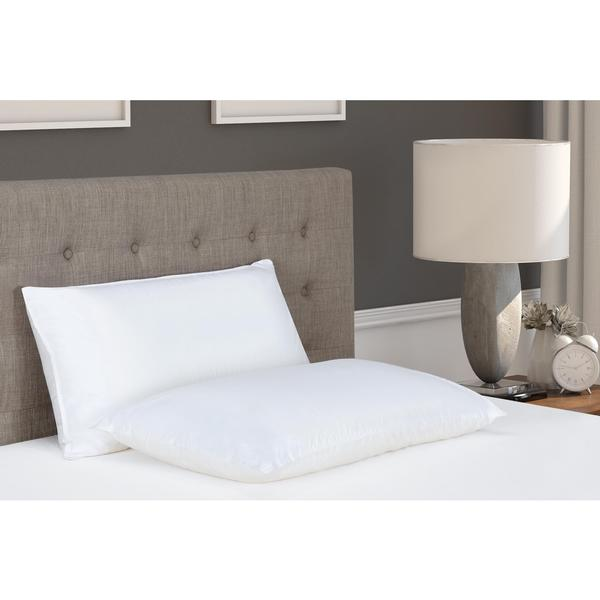 DHP Signature Sleep 2 in1 Memory Foam/Fiber Pillow