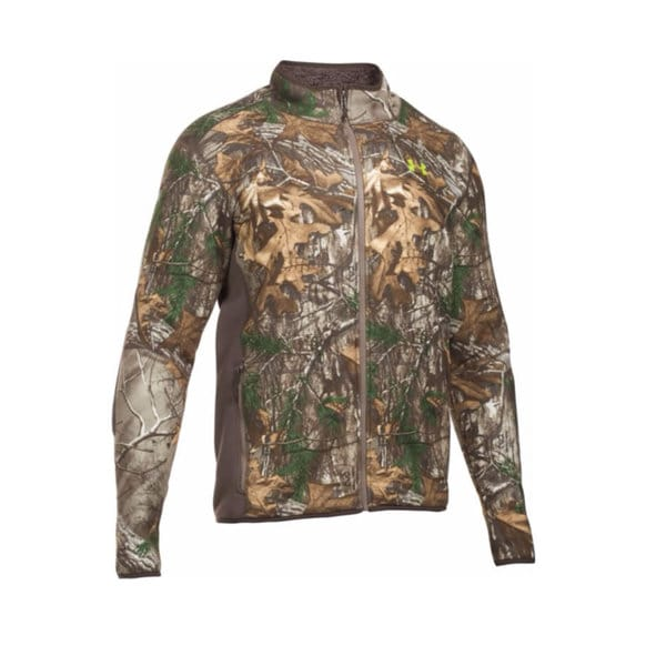 Under Armour Multicolor Polyester Stealth Fleece Jacket