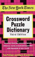 The New York Times Crossword Puzzle Dictionary (Paperback)