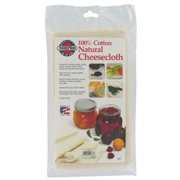 "Norpro 367 36"" Natural Cheese Cloth"