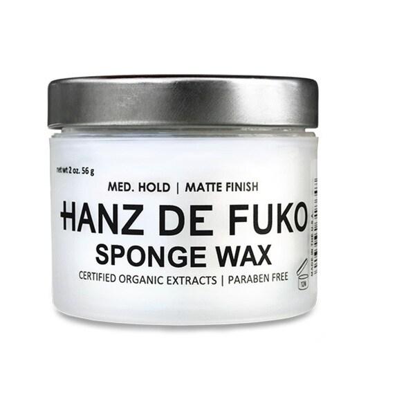 Hanz De Fuko 2-ounce Sponge Wax