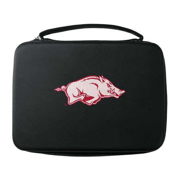 NCAA Arkansas Razorbacks Black GoPro Carrying Case