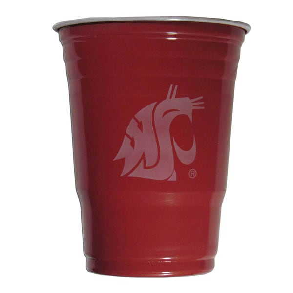 NCAA Washington State Cougars Sports Team Logo Plastic Game Day Cups 21357799