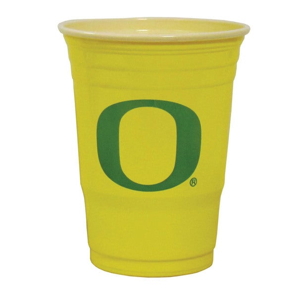 NCAA Oregon Ducks Sports Team Logo Plastic Game Day Cups 21357828