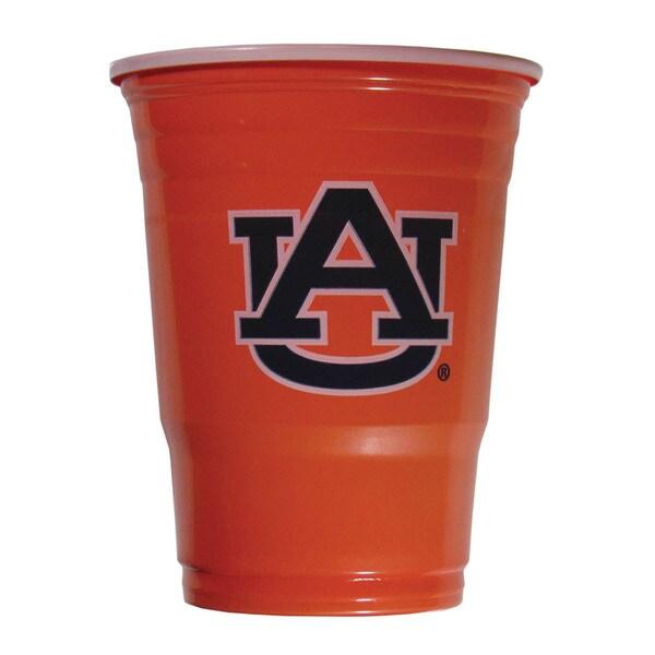 NCAA Auburn Tigers Sports Team Logo Plastic Game Day Cups 21357835