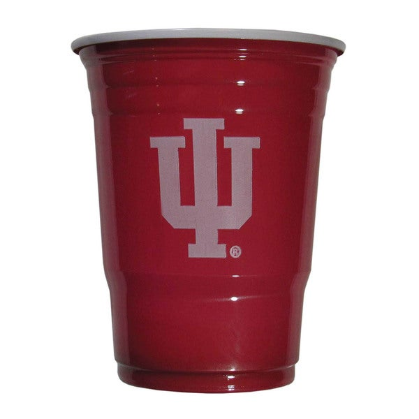 NCAA Indiana Hoosiers Sports Team Logo Plastic Game Day Cups 21357838