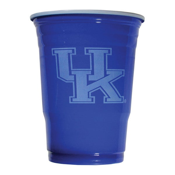 NCAA Kentucky Wildcats Sports Team Logo Plastic Game Day Cups 21357840
