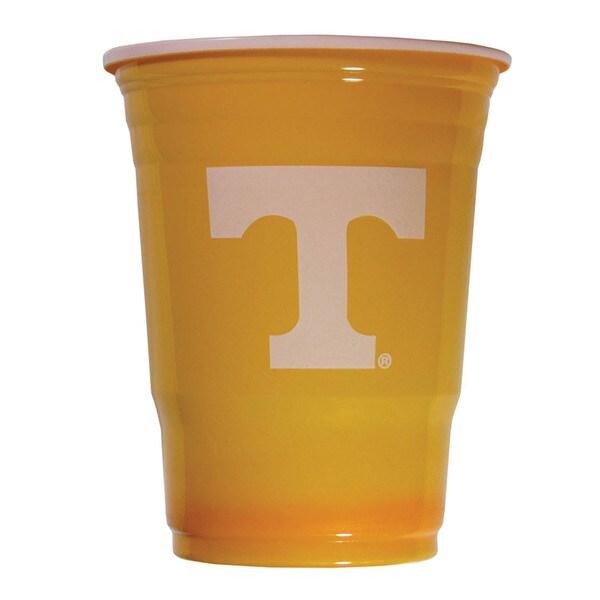 Siskiyou NCAA Tennessee Volunteers Logo Plastic Game Day Cups (Pack of 18) 21357845