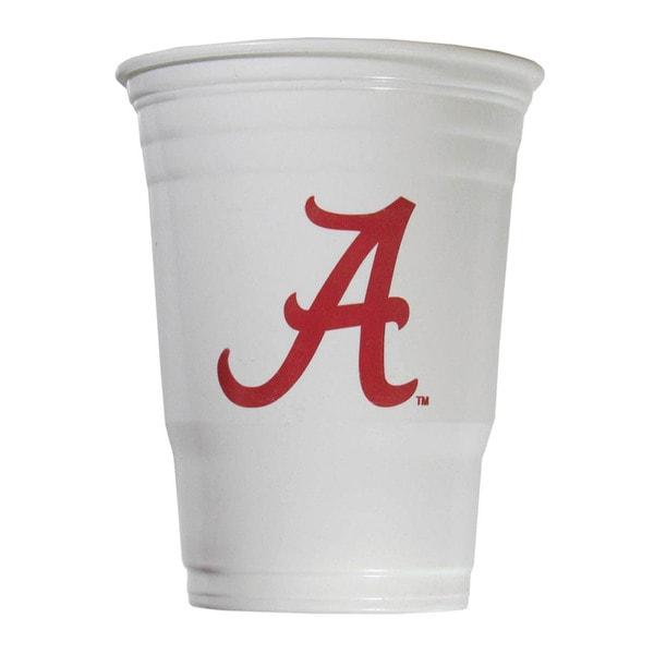 NCAA Alabama Crimson Tide Sports Team Logo Game Day Plastic Cups 21357858