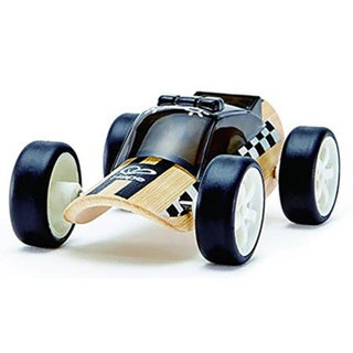 Hape Wooden Police Car