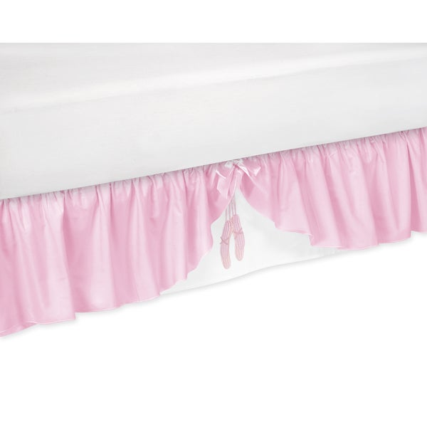 Sweet Jojo Designs Ballerina Toddler-size Bedskirt