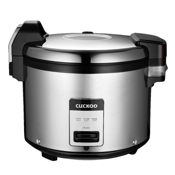Cuckoo CR-3032 30 Cup Commercial Electric Warmer Rice Cooker 21358053