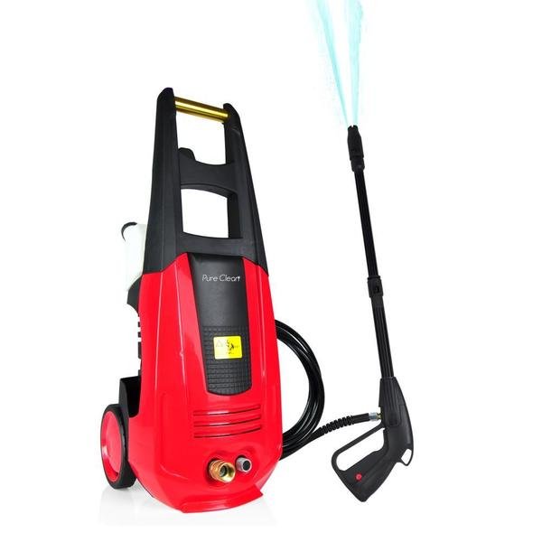 SereneLife SLPRWAS42 Pure Clean Electric Outdoor Pressure Washer with High-pressure Nozzle Wand