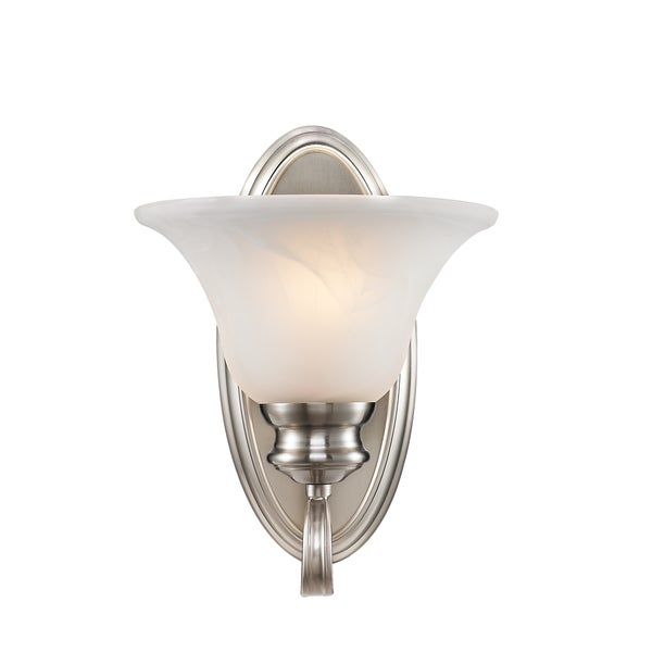 Golden Lighting Lancaster #6005-1W PW 1-light Wall Sconce
