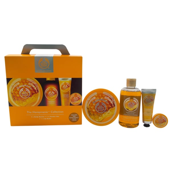 The Body Shop The Honeymania 4-piece Travel Collection