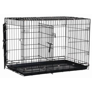 Precision Pet Black Great Crate