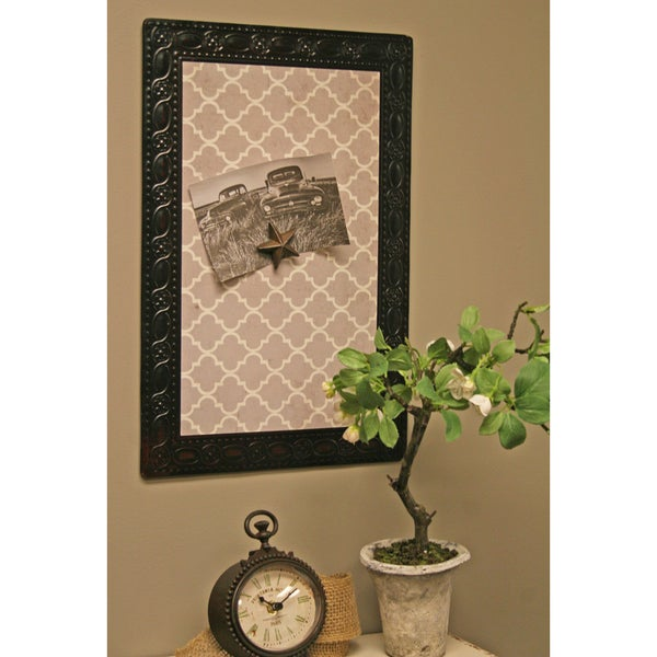 Grey Metal 18-inch High Magnet Board
