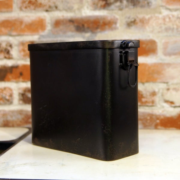 Black Metal Box