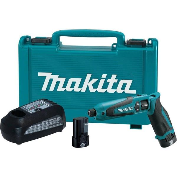 Makita 7.2-Volt Lithium-Ion 1/4 in. Cordless Hex Impact Driver Kit