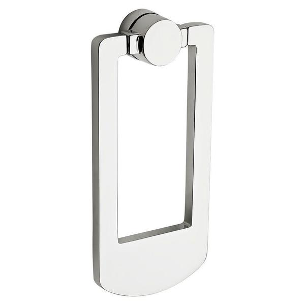 Baldwin Polished Chrome Contemporary Door Knocker