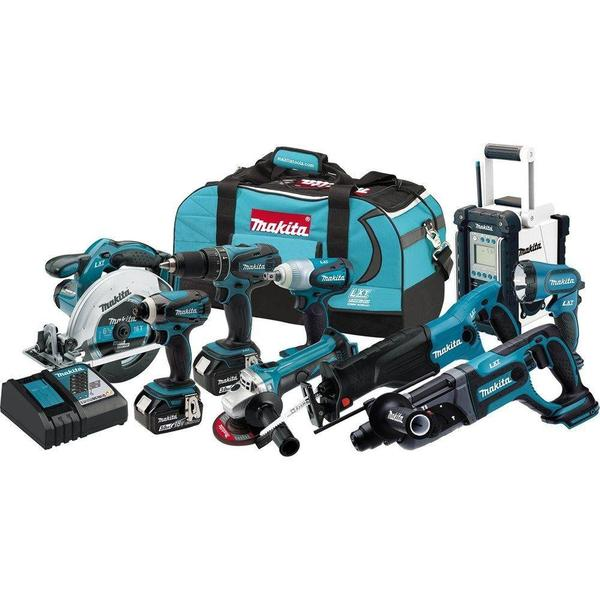 Makita 18-Volt LXT Lithium-Ion Cordless Combo Kit (9-Tool)