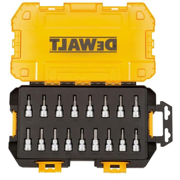 DEWALT 3/8 in. Drive Bit Socket Set (17-Piece)