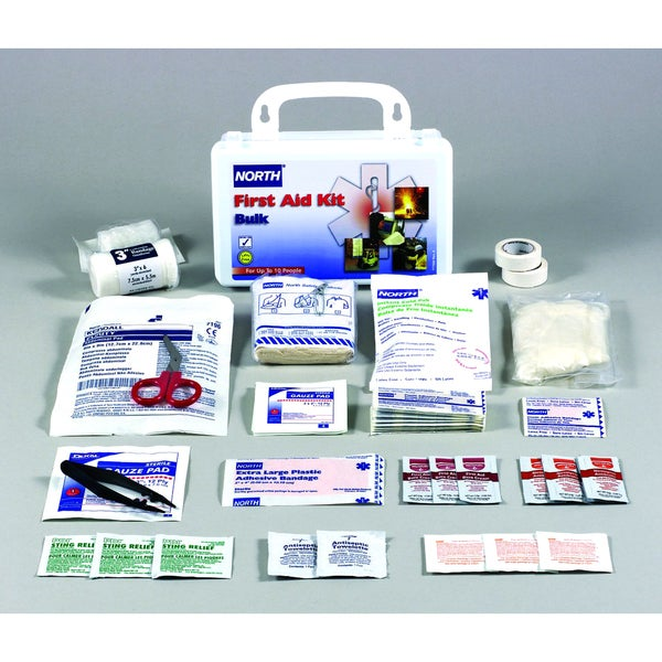 Honeywell 019700-0001L 10 Person Plastic Bulk First Aid Kit