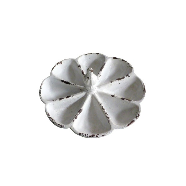 White Cast Iron Jewelry Tray