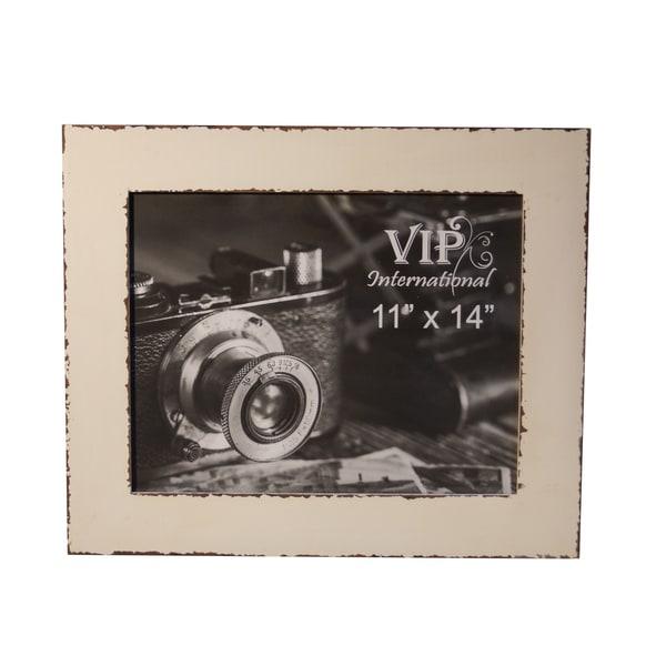 White MDF 11 x 14 Photo Frame