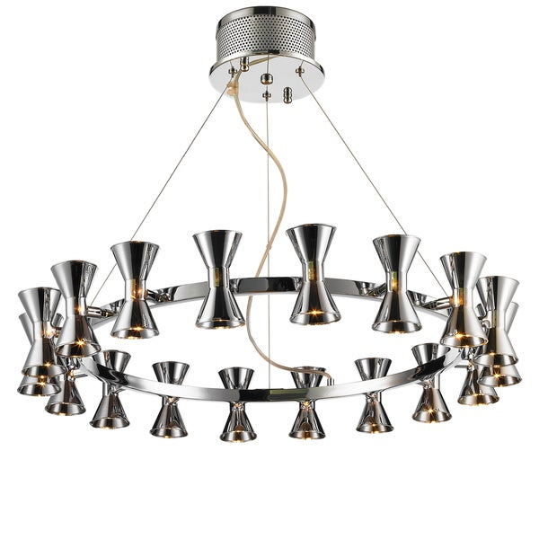 Iberlamp by Golden Lighting Kim Chandelier