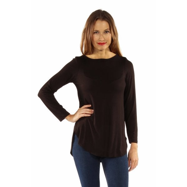 On Trend Sexy Lace Up Tunic Top