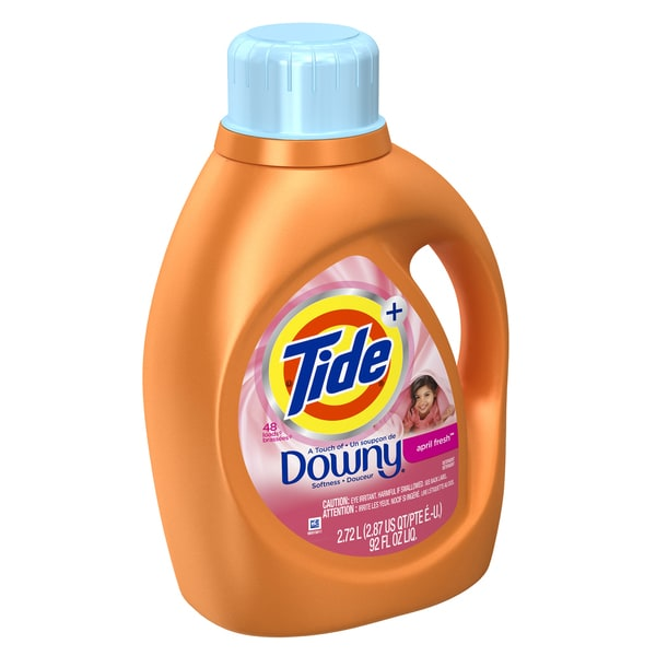 Tide 87454 69 Oz April Fresh Scent Tide With A Touch Of Downy