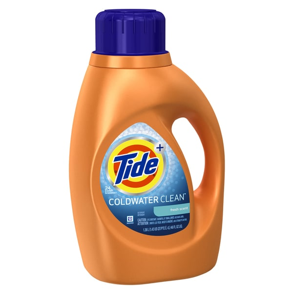 Tide 87352 46 Oz Fresh Scent Tide Coldwater Clean