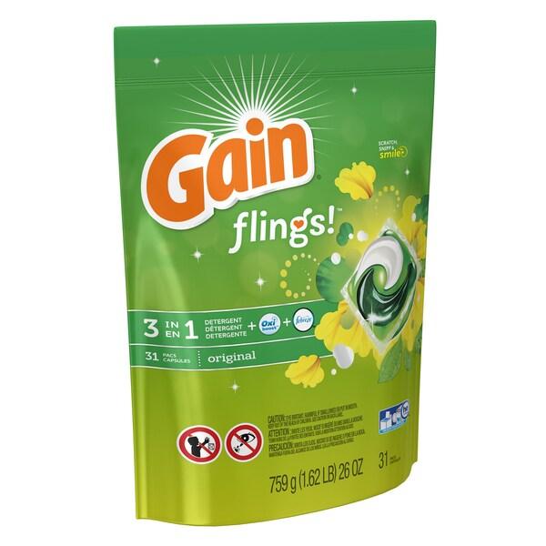 Gain 93136 Original Scent Gain Flings 31 Count