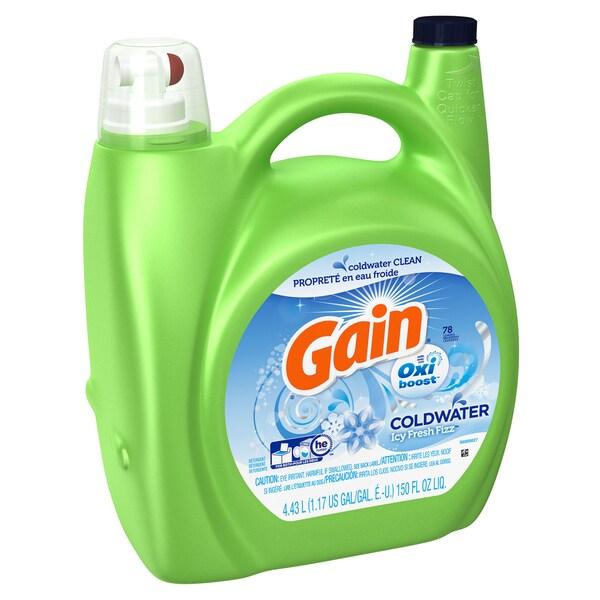 Gain 91928 150 Oz. Oxi Boost Laundry Detergent