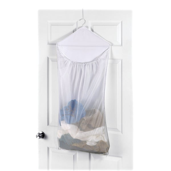 Whitmor 6154-746 Over The Door Mesh Hanging Laundry Bag