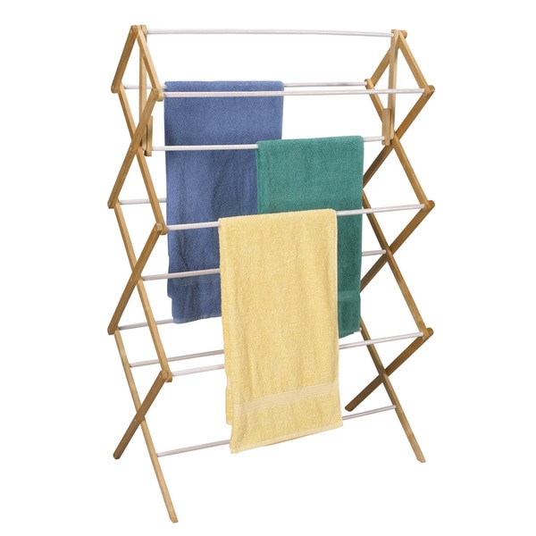 Household Essentials 5005 Mega Wood Clothes Drying Rack